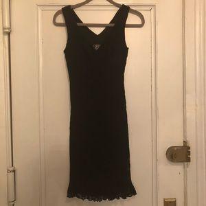 Black lace sz s dress